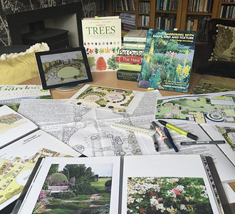 How Caroline Benedict Smith works - Garden Design Cheshire - Brainstorming