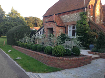 Buckinghamshire front garden - after 1- Caroline Benedict Smith