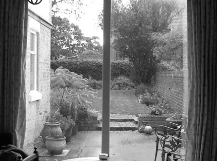 West Kirby garden- 2 before- Caroline Benedict Smith